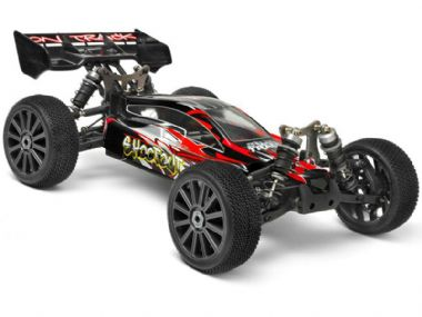 HIMOTO Shootout Radio Controlled Buggy 1:8 Scale RTR 4wd Brushless Off Road RC Model Car